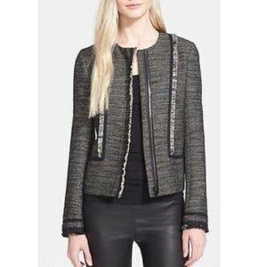 Vince Tweed Boucle Jacket